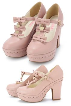 Liz Lisa pink shoes