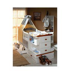 Lit chambre transformable CARINO- Lit bébé design - Chambre bébé