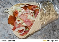 Tortila s kuřecím masem Tacos, Mexican, Meat, Ethnic Recipes, Tortillas, Mince Pies, Mexicans