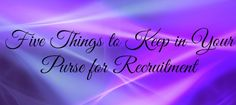 Five Things to Keep in Your Purse for Recruitment #Sorority #SororityLife #GreekLife #Recruitment #SororityRecruitment #Rush #RushGreek #Purse #ItemsInPurse