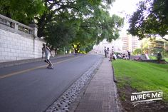 Happy Skaters at Recoleta, Buenos Aires.