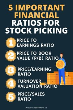 5 Simple Ratios for stock picking! Stock Market Investing, Investing In Stocks, Investing Money, Stock Market Basics, Stock Market For Beginners, Financial Ratio, Financial Budget, Business Funding, Business Money