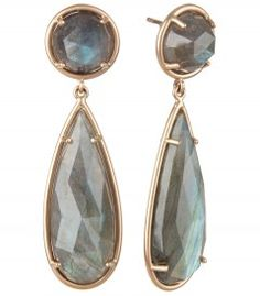 These Irene Neuwirth Double Labradorite Earrings are all-out glam.