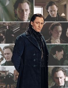 Tom Hiddleston - Sir Thomas Sharpe - Crimson Peak