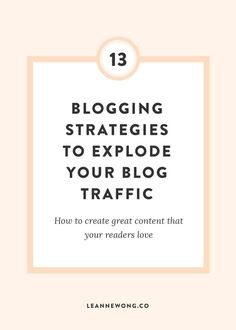 13 Tips to Create a Killer Content Strategy Make Money Blogging, How To Make Money, Blogging Ideas, Business Tips, Online Business, Content Marketing, Internet Marketing, Media Marketing, Digital Marketing