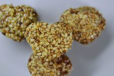 Sesame and honey healthy snack