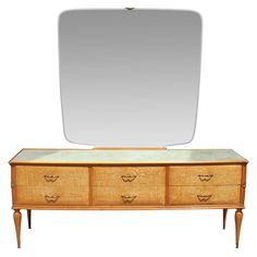 Beautiful Italian Vanity / Dresser | From a unique collection of antique and modern dressers at https://www.1stdibs.com/furniture/storage-case-pieces/dressers/