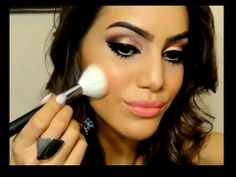 Diamond in the sky: Makeup Camila Coelho