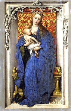 Rogier van der Weyden:  Virgin and Child