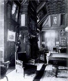 Cornelius Vanderbilt II Residence | Fifth Ave @ 57th Street, New York, NY. Billiards Room.