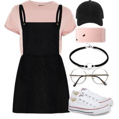 A fashion look from August 2017 featuring Topshop t-shirts, Converse sneakers and rag & bone hats. Browse and shop related looks.
