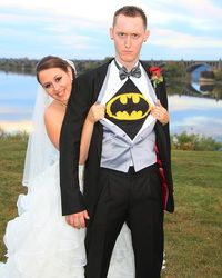 super hero! wedding photography