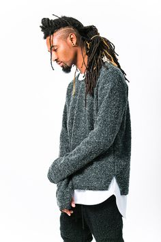 nice hair look. Dreadlock Hairstyles For Men, Black Men Hairstyles, Haircuts For Men, Dreadlocks Men, Afro Men, Dreads Styles, Dreadlock Styles, Streetwear, Natural Hair Styles