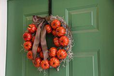 Williams Sonoma Inspired Wreath