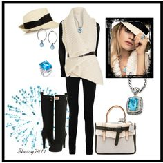 Windy Hat Contest, created by sherry7411 on Polyvore
