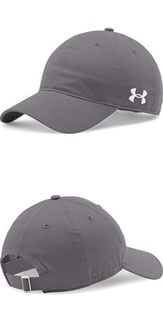 504bc6aaba8 Under Armour Unisex Chino Adjustable Cap (Graphite)