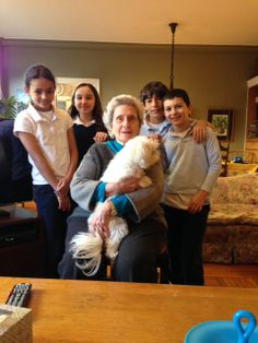 Dorot visit with Barbara (and Charlie)