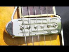 Otwin Sonor 195.. - Old German archtop - DeArmond replica on jazz guitar - YouTube