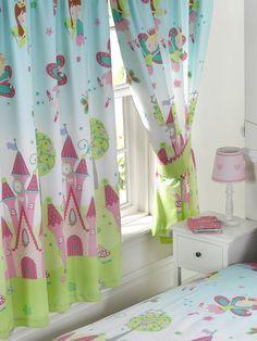 Roze / Rood Gordijn Quadro | PIEN.33.140 | Kindergordijnen | kamer ...