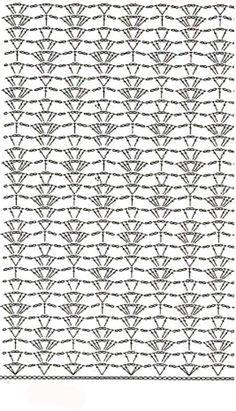 Pontos & Afins stitch crochet pattern