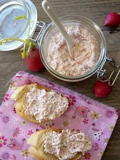 Rillette de radis kiri3 Sweet Cooking, Cooking Time, Cooking Recipes, Healthy Recipes, Tapas Party, Dips, Fresh Bread, Homemade Cakes, Pumpkin Recipes