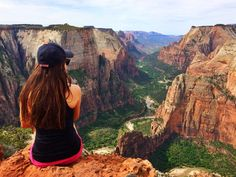 The Ultimate 60 Day North America Road Trip - Observation Point Zion National Park