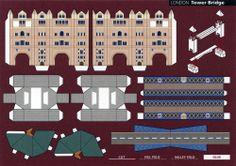 Tower Bridge ідея - макети знаменитих споруд накладати в масштабі на їх місцезнаходження на карті гугл.