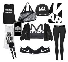 """""""Ivy"""" by vriti-suneja on Polyvore featuring Ivy Park, Alexander Wang, Topshop, NIKE and Casetify"""