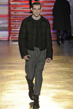 Cerruti Men's RTW Fall 2014 - Slideshow - Runway, Fashion Week, Fashion Shows, Reviews and Fashion Images - WWD.com