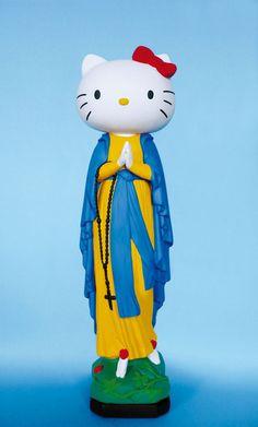 Hahaha cute Mother Mary x Hello Kitty