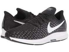 f223330ed2ad7 Nike Air Zoom Pegasus 35 (Black White Gunsmoke Oil Grey) Men s Running Shoes.  The Nike Air Zoom Pegasus 35 adds mile after mile to your workouts.