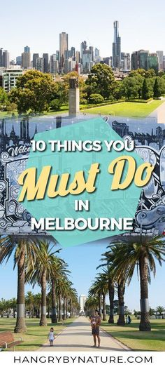 Top 10 Fun Things To Do In Melbourne - The Ultimate City Guide The ultimate Melbourne, Australia, guide - attractions in Melbourne, where to eat and what to do. Australia Travel Guide, Visit Australia, Western Australia, Australia Trip, Australia Holidays, South Australia, Melbourne Australia City, Melbourne Attractions, Melbourne Travel