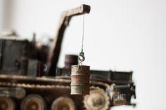 """Rhino"" Hard PA truck (auth. crazydiscoman) https://ru.pinterest.com/crazydiscoman/my-postapocalypse-models-135/"