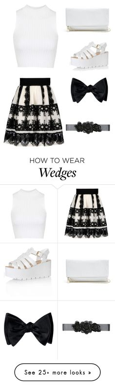 """Untitled #19"" by chanelthequeen on Polyvore featuring Alberta Ferretti, Topshop, Glamorous, GUESS and Bebe"