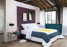11 must-have bedroom headboard looks - kenisa home Classic Interior, Bedroom Classic, Bedside Lamp, Master Bedroom, Bedroom Decor, Ikea, Sweet Home, New Homes, House Design