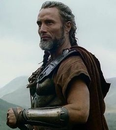 screencap of Mads Mikkelsen in costume from the film Clash of the Titans