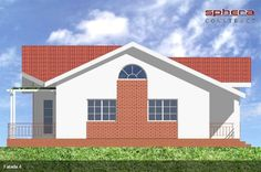 case cu doua dormitoare Two bedroom single story house plans 10 Story House, Two Bedroom, Home Fashion, House Plans, Shed, Outdoor Structures, Cabin, House Styles, Home Decor