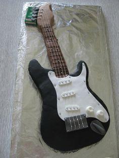 pour faire un gateau guitare