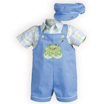 Summertime Plaid Shortall - Baby Girls' Dresses, Baby Boys' Outifts