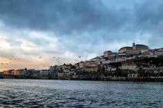 Entardecer em Coimbra
