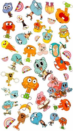 The Amazing World of Gumball / O Incrível Mundo de Gumball, The Amazing World of Gumball / 2011 ~ Cartoon Wallpaper Iphone, Disney Phone Wallpaper, Cute Cartoon Wallpapers, Aesthetic Iphone Wallpaper, Cartoon Drawings, Cartoon Art, Cartoon Characters, Cartoon Profile Pics, Profile Pictures