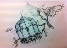 Image detail for -Caged Bird tattoo