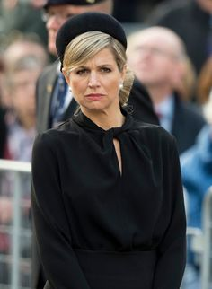 Queen Maxima of The Netherlands attended the National Remembrance ceremony at the National Monument on Dam Square in Amsterdam. 04/05/2015