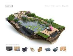 Liner pond