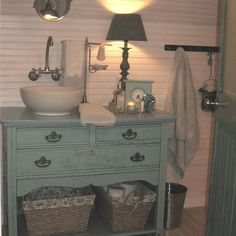 Dresser Turned Into Vanity Design, Pictures, Remodel, Decor and Ideas - page 2