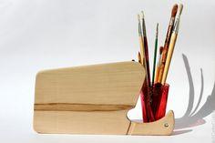 Beige kitchen wooden cutting board - Serving platter -Beech - Eco friendly wooden decor item - Christmas gift!