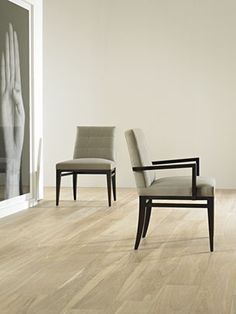 Florence Side Chair - Designed by Barbara Barry with a blend of relaxed elegance and precise architecture. Available with or without arms.