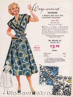 PDF Download - Collection of All 48 1950s Vintage Salesman Samples 1950s Outfits, Vintage Outfits, Vintage Fashion, Vintage Clothing, Sewing Room Decor, Sewing Rooms, New Print, Fashion Fabric, Vintage Sewing Patterns