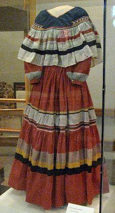 Seminole Indian Dress by Teyacapan, via Flickr