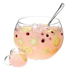"""Counting pennies? Serve punch! """"Offering several pretty punches is cheaper than a full bar,"""" says Grady. """"Just be sure to have a non-alcoholic one, too!"""" #DeliciousBuzzEvents"""
